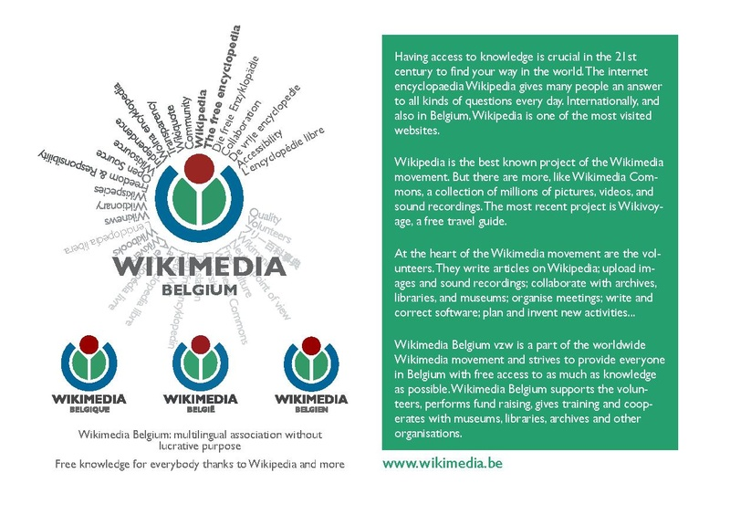 File:WMBE-Wikimedia Belgium - Free knowledge for everybody thanks to Wikipedia and more.pdf