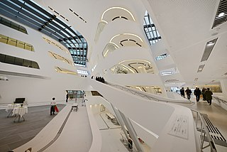 Neo-futurism Late-20th- to early-21st-century movement in the arts, design, and architecture