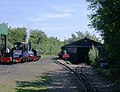 WWLR locomotive and its shed - geograph.org.uk - 395871.jpg