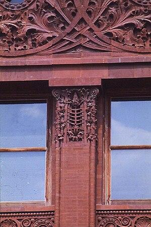 Wainwright Building - The piers read as pillars