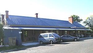 Walcha Road, New South Wales - The new hotel, Walcha Road