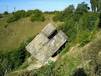 Wałcz - Remains of German pre-World War II border fortifications
