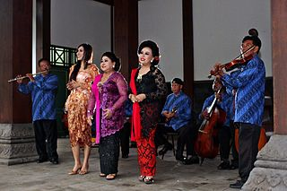 Kroncong Genre of Indonesian folk and traditional popular music