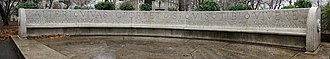 Eric Gugler - Image: Waldo Hutchins bench