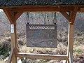 Wanderwegplan aus Holz unter Reetdach DSCF0588.jpg