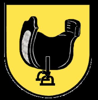Satteldorf - Image: Wappen Satteldorf