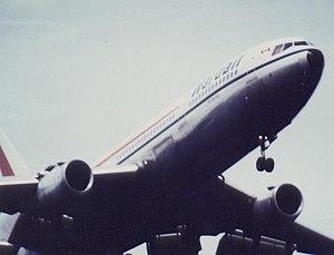 Wardair - Wardair DC-10 at landing