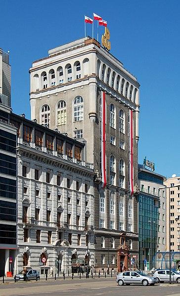 Budynek PAST obecnie. Źródło: Wikipedia