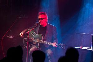 Wayne Hussey - Wayne Hussey at the Kasematten-Festival in Germany 2016.