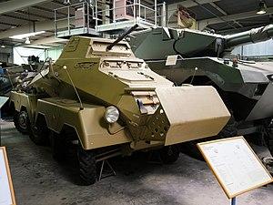 Schwerer Panzerspähwagen - SdKfz 231 8 rad at the Wehrtechnische Studiensammlung Koblenz