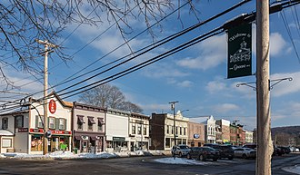 Greene, New York - Genesee Street is the heart of Greene