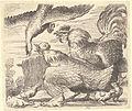 Wenceslas Hollar - Cock & hen defending their chicks.jpg