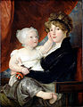 West, Benjamin - Mrs Benjamin West II with her son Benjamin West III - Google Art Project.jpg