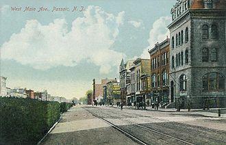 Passaic, New Jersey - Main Avenue in 1911