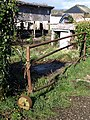 Wheeled gate, Churchtown Farm - geograph.org.uk - 1193425.jpg