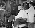 When Joe Smith goes down to the barber shop (after July 1) for a haircut, shave and shine, only the price of the... - NARA - 195457.jpg