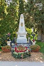 """Wien, Zentralfriedhof, Grab """"Ludwig van Beethoven"""" -- 2018 -- 3203.jpg"""