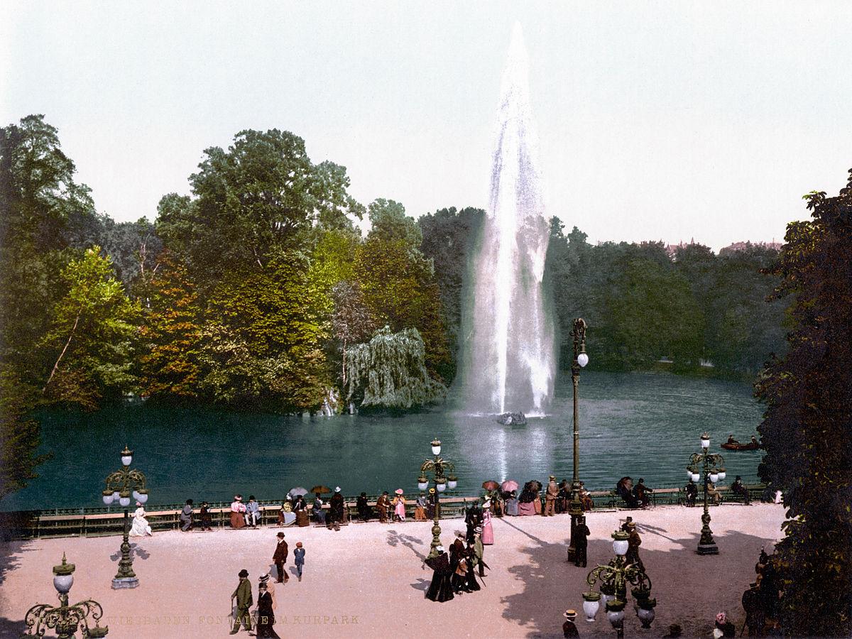 Wiesbaden Kurpark
