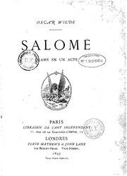 Oscar Wilde: Salomé