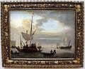Willem van de velde il giovane, veduta di mare con vascelli, 01.JPG