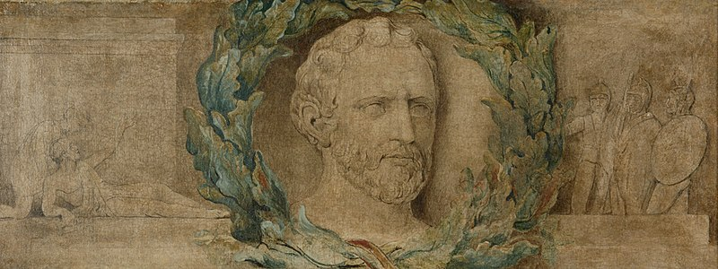 File:William Blake - Demosthenes - Manchester City Gallery - Tempera on canvas c 1800.jpg