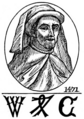 William Caxton - The first printer at Westminster.png