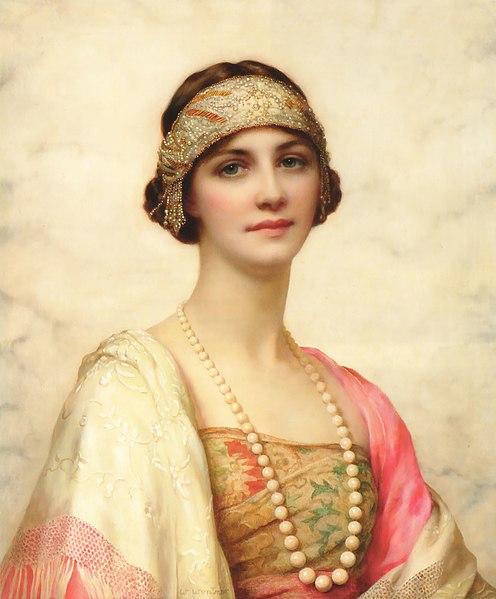 File:William Clarke Wontner - An Elegant Beauty.jpg