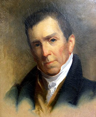 Pennsylvania's 2nd congressional district - Image: William Darlington by John Neagle ca 1825