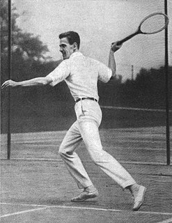 Willis E. Davis American tennis player