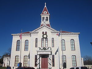 Floresville, Texas - Image: Wilson County, Texas, Courthouse IMG 2661