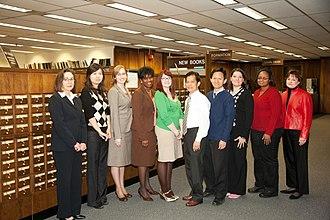 Wirtz Labor Library - Staff in 2009