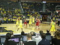 Wisconsin vs. Michigan women's basketball 2013 30 (second half action).jpg