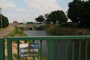 South Holland IDB - Wiseman's Sluice and Pumping Station on the South Holland Main Drain
