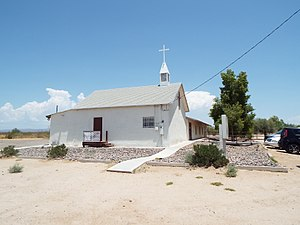 Wittmann, Arizona - Image: Wittmann Church 1930