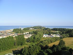 Hel Peninsula - Hel Peninsula as seen from the tallest building in Władysławowo