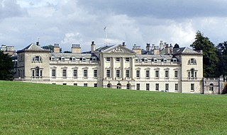 Woburn Abbey occupying the east of the village of Woburn, Bedfordshire, England, is a country house, the family seat of the Duke of Bedford