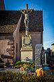 Wolfisheim calvaire cimetière église protestante Saint-Pierre février 2014.jpg