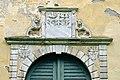 Wolfsberg Reideben 1 Schloss Sued-Portal Wappen Freyberg und Kronegg 03092014 358.jpg