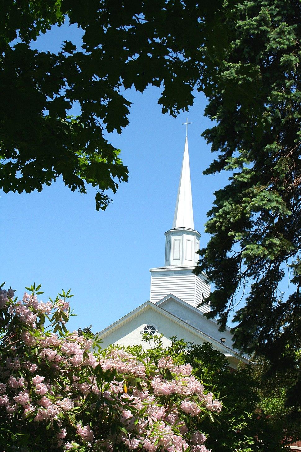 Wollaston Church of the Nazarene - steeple