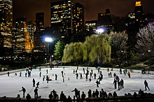 Il Wollman Rink a Central Park