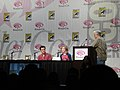 WonderCon 2011 - Hanna panel - director Joe Wright and star Saoirse Ronan (5593338589).jpg