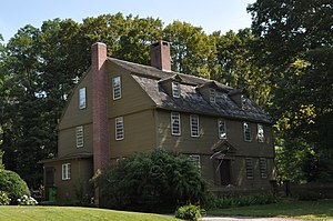 National Register of Historic Places listings in Litchfield County, Connecticut - Image: Woodbury CT Jabez Bacon House
