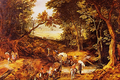Wooded Landscape with a Wagon Train - Jan Brueghel.png