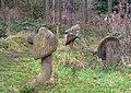 Wooden Mushrooms in Bourne Wood - geograph.org.uk - 97204.jpg