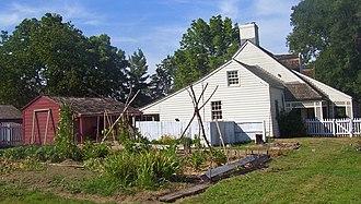 John Neville (general) - Woodville, Neville's home