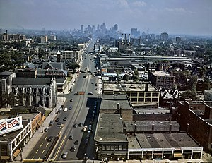 Woodward Ave Detroit 1942