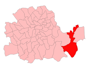 Woolwich West (UK Parliament constituency) - Woolwich West in the County of London 1918-50