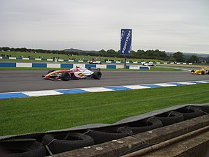 Donington Park - World Series by Renault at Donington Park's Melbourne Hairpin in 2005