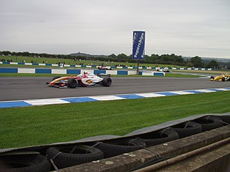 As World Series de Renault disputadas en Donington Park, en 2005
