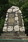 World War I memorial and Selské povstání memorial in Rudlice, Znojmo District.jpg